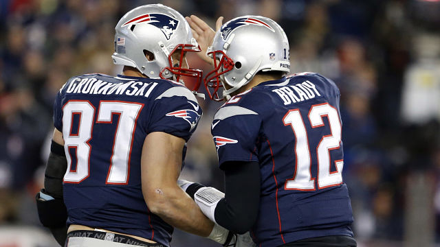 Should Patriots fans be a little frustrated with Tom Brady and RobGronkowski?