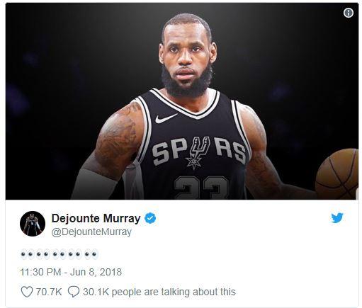 LeBron Spurs