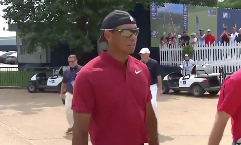 Tiger Woods is BACK!